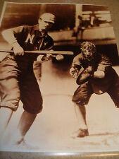 "Matte Finish 11x14 Sepia-Toned Photo Turn of ""Wee"" Willie Keeler HOF New York"