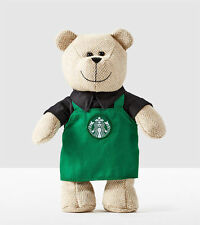 Starbucks 2016 Winter Bearista Bear with Green Apron Limited Edition Collection