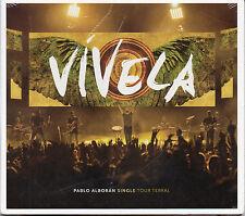 "PABLO ALBORAN ""VIVELA - TOUR TERRAL"" RARE DIGIPACK AUDIO+VIDEO CD MAXI / SEALED"