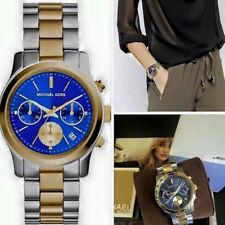 Michael Kors Women's MK6165 Two-Tone Stainless Steel Watch NWT.