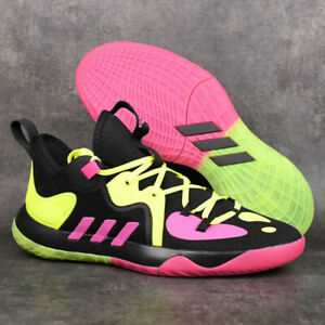 Adidas Harden Stepback 2 GZ2955 Black Pink Basketball Shoes Training Sneakers