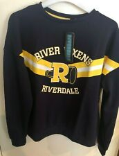 OFFICIAL RIVERDALE HIGH SWEATER/JUMPER..BRAND NEW..SIZE 14-16..RIVER VIXENS..