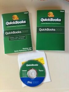 QuickBooks Pro 2007 Small Business Financial W/Product Key