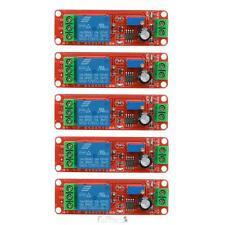 5pcs DC 12V LED Delay Relay Shield NE555 Timer Switch Adjustable Module