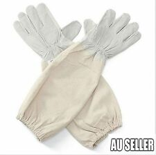 Goatskin Protective Bee Keeping & Vented Long Sleeves Beekeeping Gloves 3 Sizes