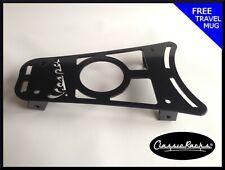 Vespa PRIMAVERA / SPRINT floor board rack CUP HOLDER- gloss black CLASSIC RACKS