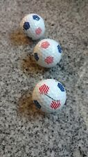 Callaway 2018 Chrome Soft Golf Balls (3) RED, WHITE & BLUE