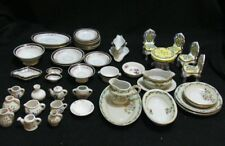 Large Lot Of Vintage Doll House Miniatures Porcelain Japan Thailand Enesco