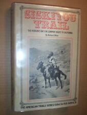 SISKIYOU TRAIL, Richard Dillon, FINE 1st edition, 1975, American Trails Series