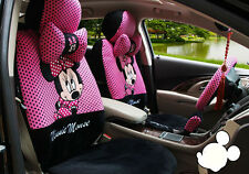 18pcs new Cartoon Mickey Mouse car seat cover universal seat covers car-covers