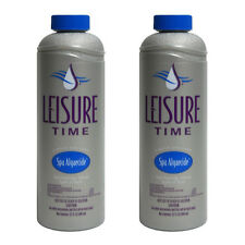 Leisure Time Non-foaming Spa Algaecide - 1 Qt (32 Oz) [ 2 Pack Bundle ]