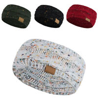 Fashion Women Crochet Headband Knit Hairband Ear Warmer Winter Warm Headwrap US