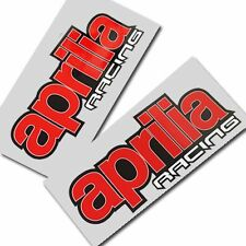 Aprilia racing Motorcycle graphics stickers decals x 2PCS Style 003