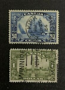 Canada Stamps #158-159 Used