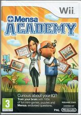 MENSA  ACADEMY GAME WII ~ NEW / SEALED
