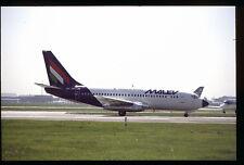 Orig 35mm airline slide Malev 737-200 HA-LEB [212-1]