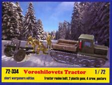 BUM Models 1/72 RUSSIAN VOROSHILOVETS TRACTOR WITH GUNS Figure Set