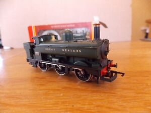 HORNBY GWR 2721 CLASS 0-6-0PT LOCO No 2744 in GWR Green Livery. 00 Gauge