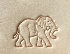 Craftool Tandy 8467 Elephant  2D/3D Leather Leathercraft Stamp Tool
