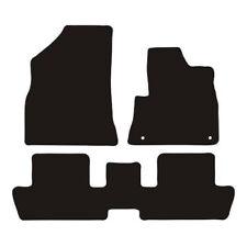 Peugeot 3008 2009 - 2016 Tailored Black Car Van Floor Mats Carpets 3pc Set