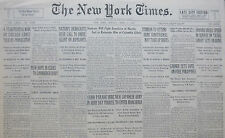 4-1932 April 3 LINDBERGH BABY CLUES 4 YEAR WAR ON CHICAGO GANGS CAPONE HARRIS