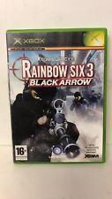 * Original Xbox Game * RAINBOW SIX 3: BLACK ARROW * X Box