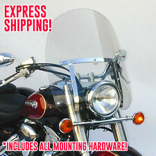 Kawasaki VN900B Vulcan 900 Classic LT/SE Dakota 4.5 Windshield N2301 +Mount Kit