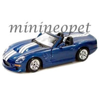 MAISTO 31277 1999 SHELBY SERIES ONE 1/24 DIECAST BLUE with WHITE STRIPES