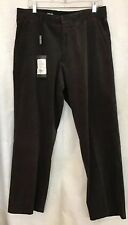 Giorgio Armani Pants Chocolate Thin Soft Corduroy Wide Leg Nwt $575 Size 36