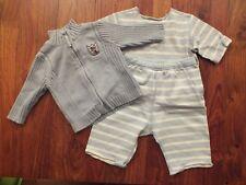 Ensemble Petit bateau t-shirt + pantalon - 3 mois + veste TAO offerte