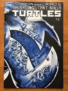 Teenage Mutant Ninja Turtles 2 2nd Print FN 1985 Mirage FREE SHIPPING