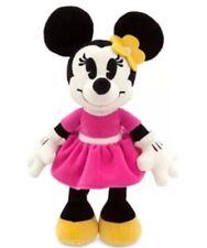 "New Disney Store Valentine's Day MINNIE MOUSE Plush 13"" Kiss Me Stuffed Animal"