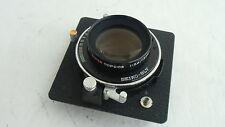 Super Topcor 150mm /f 5.6 lens, Seiko shutter & Horseman board (9072997)