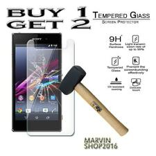 Genuine Tempered Glass Film Screen Protector Cover For Sony Xperia Z1s