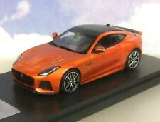 SUPERB TRUESCALE TSM 1/43 RESIN 2016 JAGUAR F TYPE SVR COUPE FIRESAND METALLIC