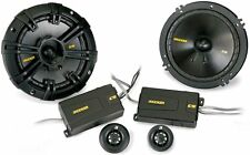 Kicker CS Series 6-1/2 Inch Component Component Speakers 40CSS654 (Pair)