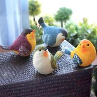 Creative Outdoor Garden Simulation Resin Bird Home Decor Crafts  Ornaments