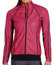 Gore Magnitude Active Shell Windstopper Womens Running Jacket, Berry, Medium NEW