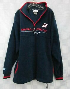 NASCAR RACING FLEECE JACKET Rusty Wallace #2 Chase Authentics Mens Medium 2003