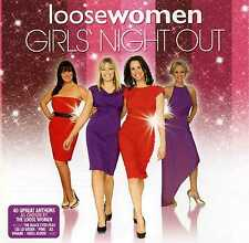 LOOSE WOMEN GIRLS NIGHT OUT - GEORGE MICHAEL BONNIE TYLER WHAM! - 2 CDS - NEW!