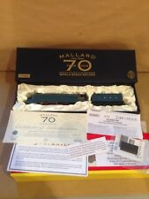 R2684 Hornby Gold Plated Limited Edition Mallard boxed with certificate, track a