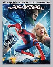 Amazing Spider-Man 2 [Blu-ray + DVD] [3D Disc & Digital HD Not Included] [READ]