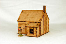 North American  HOUSE with STONE CHIMNEY #3 28mm Terrain M011