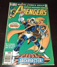 Avengers #196 VG/FN 1st Taskmaster Newsstand Marvel Bronze Age KEY Comic