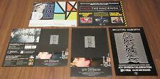 Joy Division & New Order Japan Promo flyer x 5 set Mini Poster leaflet Free Ship
