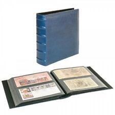 Lindner XL  Album für 216  Briefe, Fotos, Postkarten, FDC bis 245x132 mm blau
