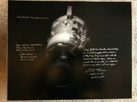 Fred Haise Jack Lousma Apollo 13 16x20 signed inscribed photo