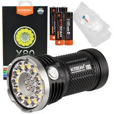 Acebeam X80 25000 Lumen LED Flashlight Searchlight with Battery Box