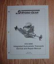 CUB CADET GT1222 GT1554 HYDRO TRANSMISSION SERVICE MANUAL