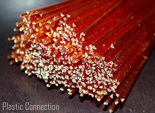 PMMA (plexi, plexiglass) Plastic welding rods 3mm red, orange, 15pcs,
